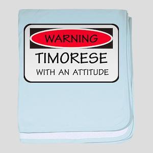 Attitude Timorese baby blanket