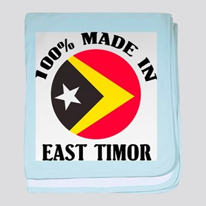 Made In East Timor baby blanket