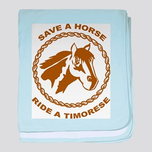 Ride A Timorese baby blanket
