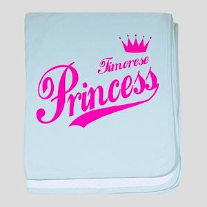 Timorese Princess baby blanket