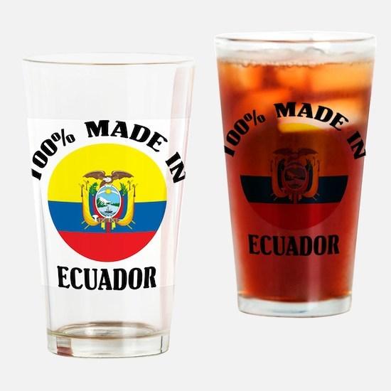 100% Ecuador Pint Glass