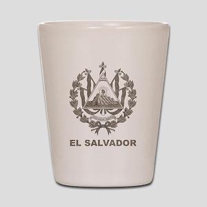 Vintage El Salvador Shot Glass