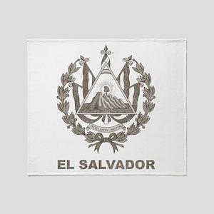 Vintage El Salvador Throw Blanket