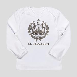 Vintage El Salvador Long Sleeve Infant T-Shirt
