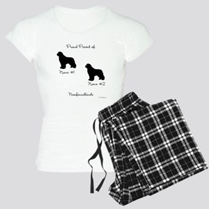 2 Newfoundlands Women's Light Pajamas