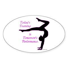 Gymnastics Sticker - Training