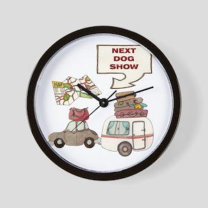 Next Dog Show Wall Clock