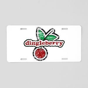 Dingleberry Aluminum License Plate