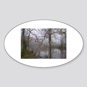 Fog Sticker (Oval)
