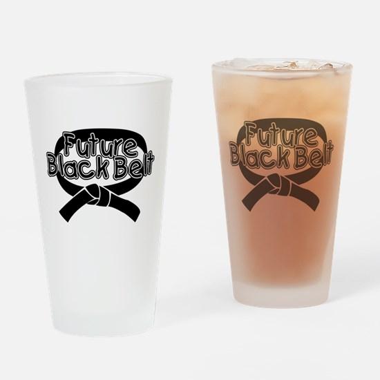 Future Black Belt 2 Pint Glass