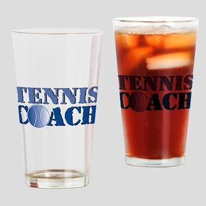 Tennis Coach Pint Glass
