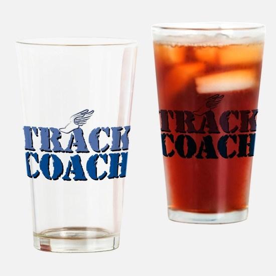Track Coach wf Pint Glass
