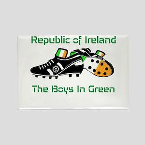 Republic of Ireland Football Rectangle Magnet