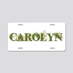 Carolyn Aluminum License Plate