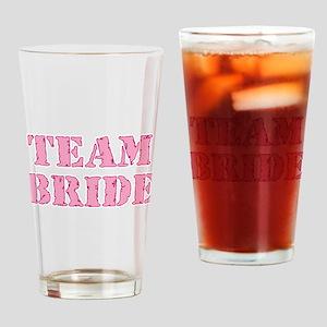 Team Bride Drinking Glass