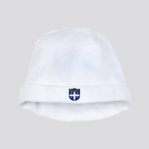 Quebec Flag Patch baby hat