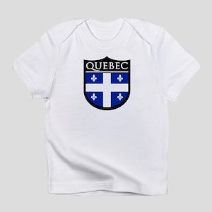 Quebec Flag Patch Infant T-Shirt