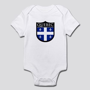 Quebec Flag Patch Infant Bodysuit