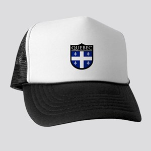 Quebec Flag Patch Trucker Hat