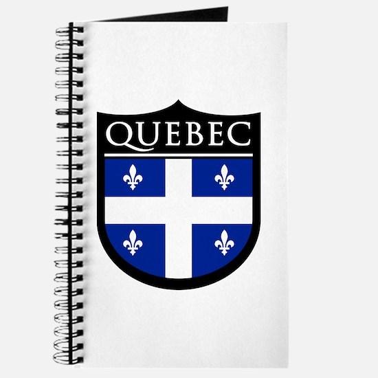 Quebec Flag Patch Journal