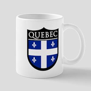 Quebec Flag Patch Mug