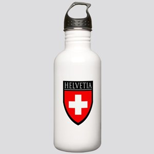 Swiss (HELVETIA) Patch Stainless Water Bottle 1.0L