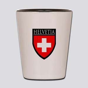 Swiss (HELVETIA) Patch Shot Glass