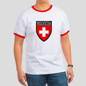Swiss (HELVETIA) Patch Ringer T