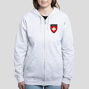 Swiss (HELVETIA) Patch Women's Zip Hoodie