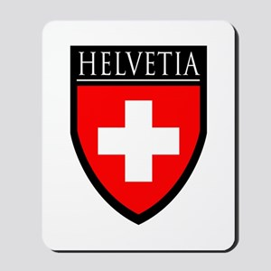 Swiss (HELVETIA) Patch Mousepad