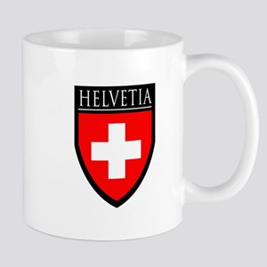 Swiss (HELVETIA) Patch Mug