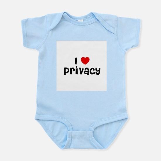 I * Privacy Infant Creeper