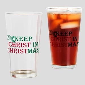 Keep Christ cross Drinking Glass