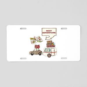 Next Adventure Aluminum License Plate
