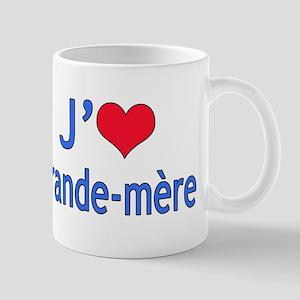 I Love Grandma (French) Mug