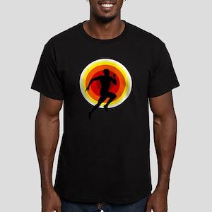 Runner Men's Fitted T-Shirt (dark)