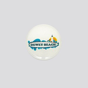 Dewey Beach DE -Surf Design Mini Button