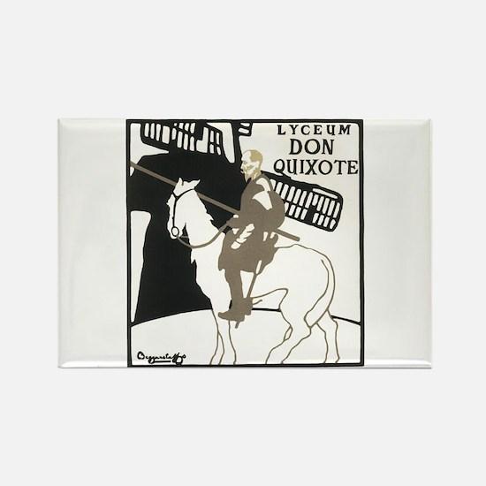 Don Quixote 1896 Poster Rectangle Magnet