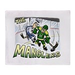 The Manglers Throw Blanket
