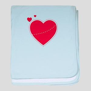 HEART YOU baby blanket