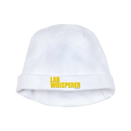 Lab Whisperer baby hat