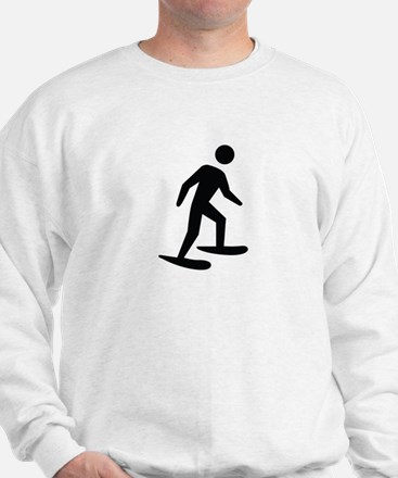 Snow Shoeing Image Sweatshirt