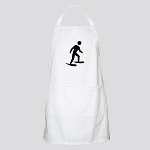 Snow Shoeing Image Apron