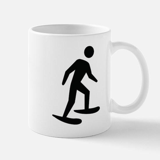 Snow Shoeing Image Mug