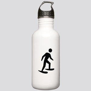 Snow Shoeing Image Stainless Water Bottle 1.0L