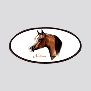 Bay Arabian Horse Patches