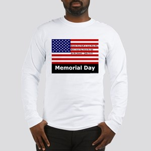 No Greater Love Memorial Day Long Sleeve T-Shirt