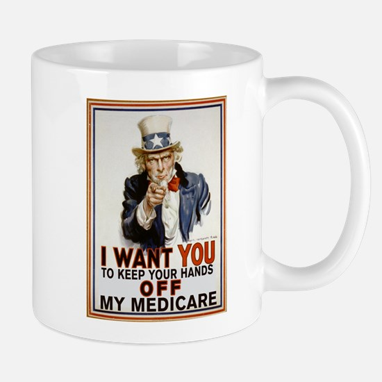 Congress, Don't Touch Medicare Mug