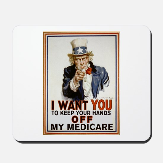 Congress, Don't Touch Medicare Mousepad