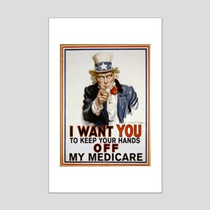 Congress, Don't Touch Medicare Mini Poster Print